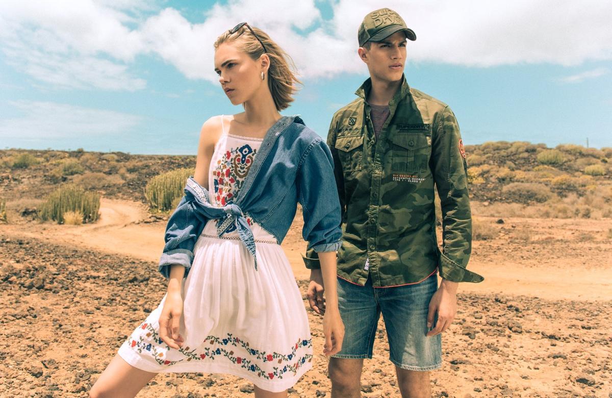 Nová kolekce Superdry inspirovaná módou z různých koutů světa