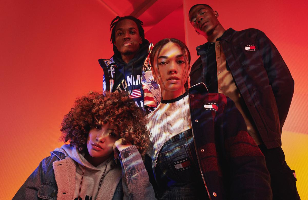 Vycházející hvězdy v podzimní kampani Tommy Jeans