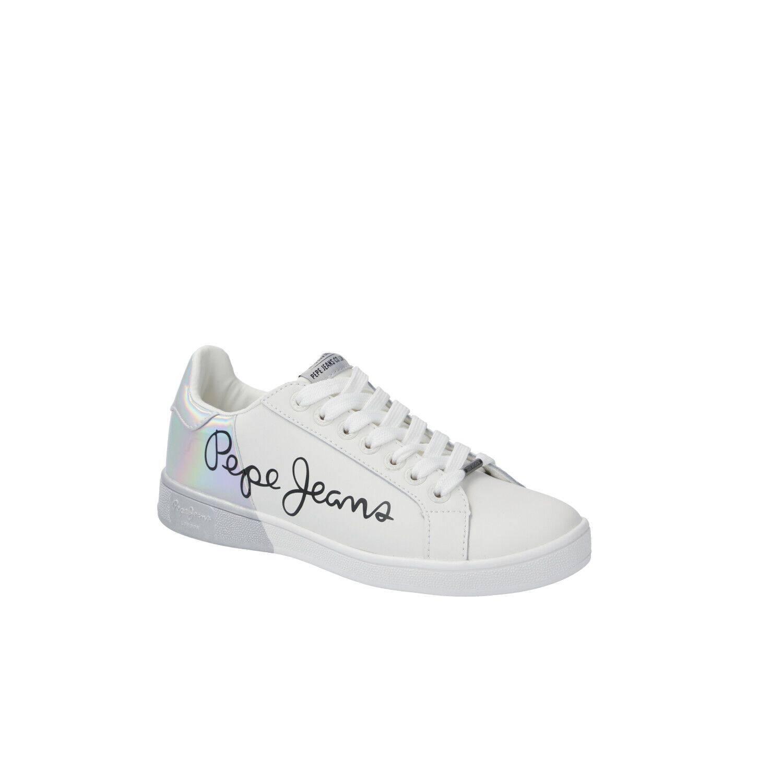 68a251335 Plátěné tenisky BROMPTON MANIA Pepe Jeans London | Bílá | Gomez.cz