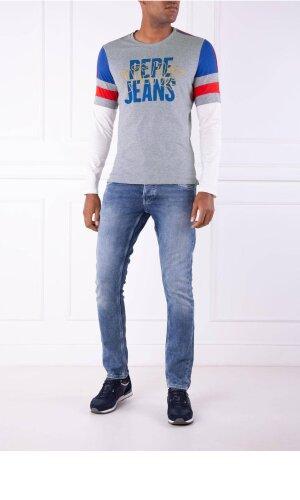 Pepe Jeans London Tričko s dlouhým rukávem BASE   Slim Fit