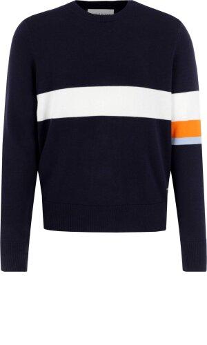 Calvin Klein Jeans Svetr COLOR STRIPE | Regular Fit