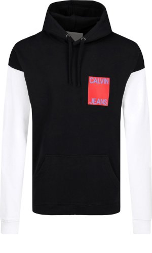 Calvin Klein Jeans Mikina COLOR BLOCK INSTITUT | Loose fit