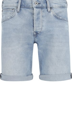 Pepe Jeans London Šortky CHAP SHORT URBAN LIGHT   Slim Fit   denim