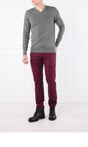 Tommy Hilfiger Tailored Svetr LUXURY WOOL VNECK FO | Regular Fit