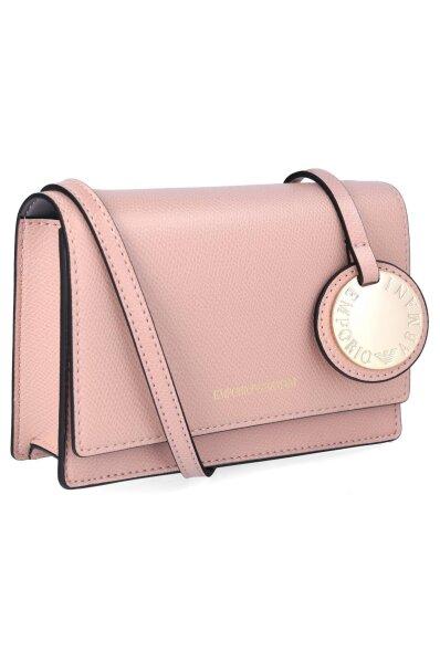0fd62fba6b Crossbody kabelka psaníčko Emporio Armani růžová