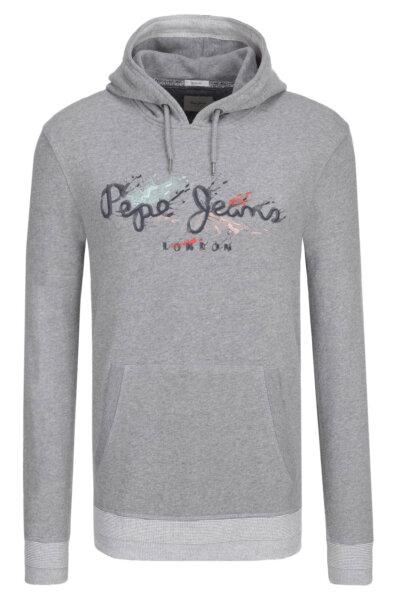 Mikina Milton Pepe Jeans London šedá. PM581152 f1e9b90843