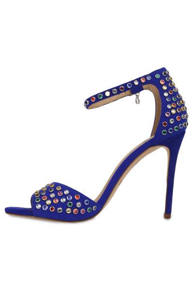 5492d1fb03 Sandály na jehlovém podpatku Paris Guess modrá