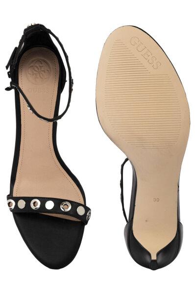 4bf1e9963e Sandály na jehlovém podpatku Narele Guess černá