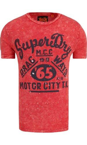 Superdry Tričko Motor City | Slim Fit