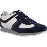 Tenisky Trussardi Jeans tmavě modrá