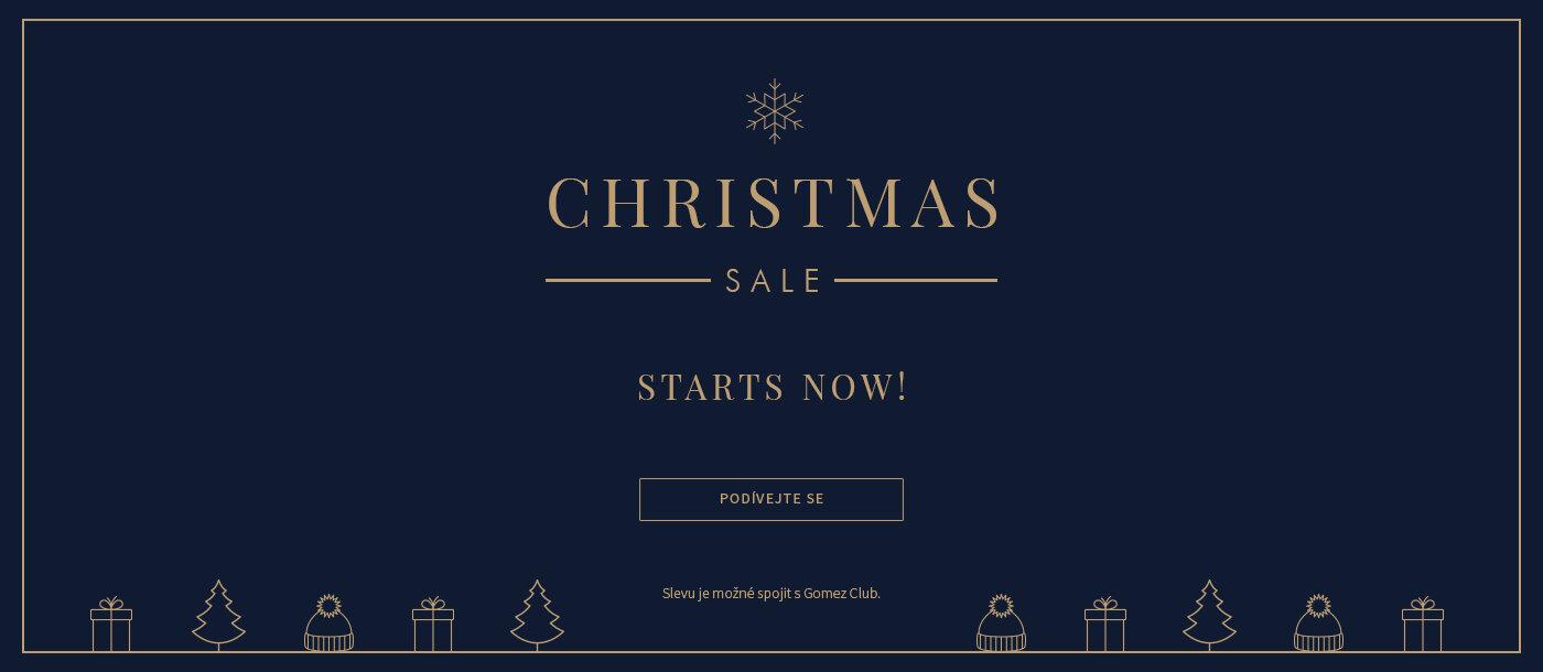 Christmas Sale CZ
