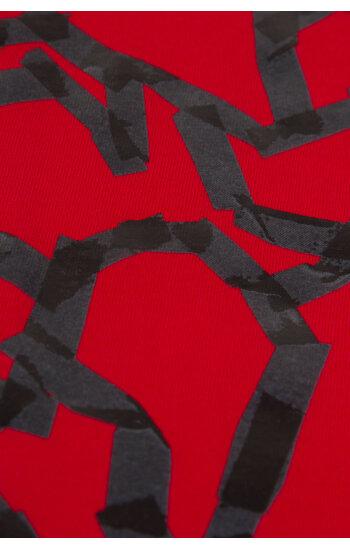 Tričko | Regular Fit Versace Collection červená