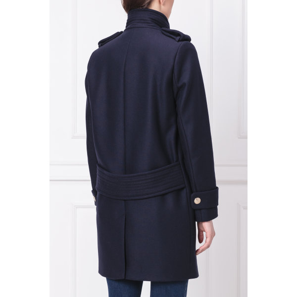 ... Kabát BELLE FUNNEL Tommy Hilfiger tmavě modrá ... af10162d2b