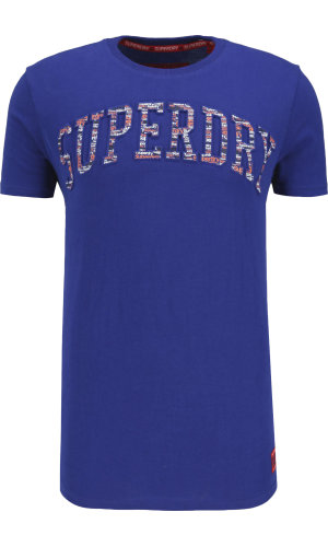 Superdry T-shirt Varsity embossed | Regular Fit