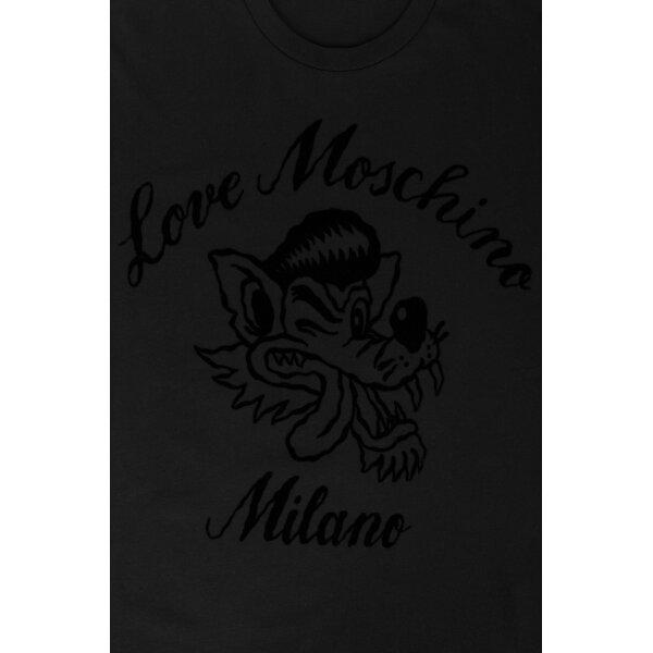 2ec90ad1e03 ... TRIČKO Love Moschino černá ...